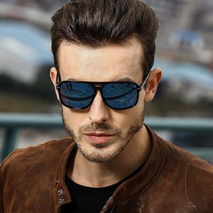 2020 Fashion Men Cool Square Style Gradient Polarized Sunglasses Driving Vintage Brand Design Cheap Sun Glasses Oculos De Sol