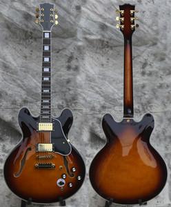 Guitare électrique sur mesure, Semi-creux GD Quincailleries Jazz Guitar, CST19031115