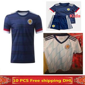 الشحن مجانا أحدث جودة التايلاندية 2020 اسكتلندا لكرة القدم الفانيلة 2020 2021 اسكتلندا منزل رجل + الاطفال بيرك 9 قميص كرة القدم