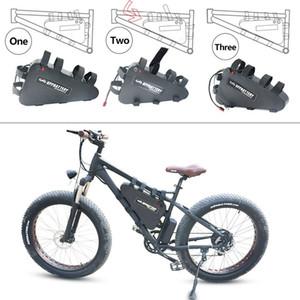 US EU AU No Tax 48V 20.3Ah Batería de bicicleta eléctrica de iones de litio 1000W 20Ah Triangle EBike batería con USB para motor Bafang