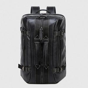 다기능 남자 배낭 핸드백 단일 남자 더블 어깨 메신저 가방 여행 컴퓨터 가방 여자 캐주얼 세 사용 노트북 핸드백