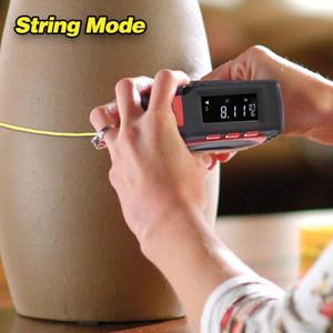 3 في 1 قياس الشريط مع لفة الحبل وضع الدقة العالية الشريط الرقمية ليزر عالية التأثير المهنية أداة قياس