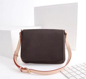 M51257 Crossbody clássico bolsas bolsas Idade Média Crossbody Bag Mulheres Tote Flor Postman Package Mongrams Bolsas de Ombro NEVERFULS 51257