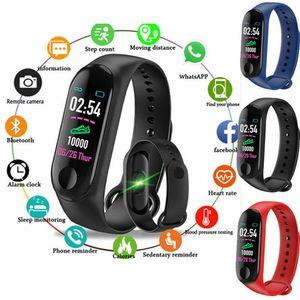 Heißer Verkauf Eignung-Uhr Bluetooth Smart-Armband-Armband-Uhr-Puls-Monitor Blutdruck Fitness Tracker Pedometer