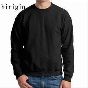 novos Outono Inverno homens moda hoodies casuais algodão de lã masculina pullover treino dos homens crewneck sweatshirt