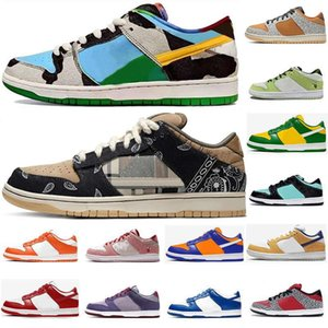 DUNK SB Low Ben & Jerry Skateboard Sneakers Safari Chunky Dunky Mens Women Syracuse Kentucky Infrared Champ Valentine Running Shoes Trainers
