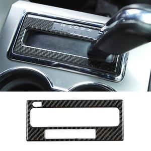 Décoration de panneau de décoration de décalage de vitesse de voiture de voiture de carbone ABS pour Ford F150 Raptor 2009-2014 Accessoires d'intérieur