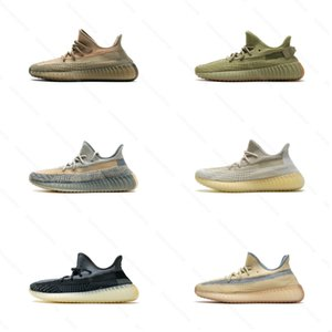 Kanye West Running Shoes Eliada Flax Israfil Linen Marsh Sulfur Zyon Desert Sage Asriel Abez Cinder Men Women Designer Sports Sneakers