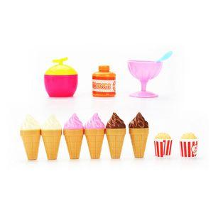 Simulation Kleine Carts Mädchen Mini-Süßigkeit Wagen Ice Cream Shop Supermarkt Kinderspielzeug Spielen Heim