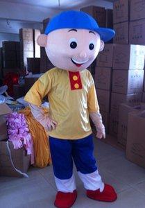 Halloween Caillou Mascot Costume Top Quality Cartoon Caillou Boy Anime personaggio tema Natale Carnevale Costumi del partito