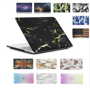 그림 하드 케이스 커버 별이 빛나는 하늘 / 대리석 / 위장 패턴 노트북 커버 맥북 뉴 에어 13 ''13 인치 A1932 노트북 케이스