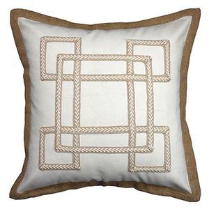 TOP! -Cushion Kapak Dekoratif Yastık Kılıfı Vintage Doğal Dokuma Geometrik Desenler Keten Pamuk coussin Odası Dekor Yatak