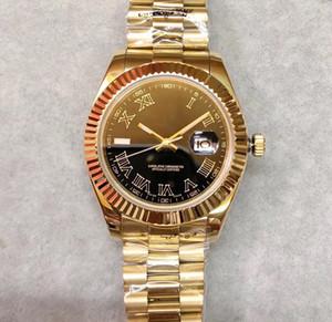 2020 venta caliente Top para hombre Relojes DATEJUST los 41MM esfera de zafiro 316L oro 24K Jubilee automático de la correa del reloj mecánico Movimiento Presidencial