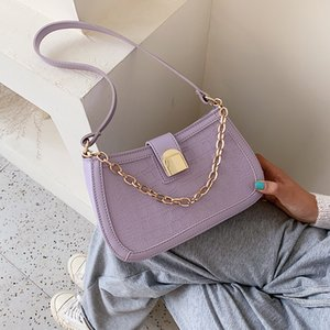 NEW Original Design Stone Pattern Armpit Bag & Elegant Chain Handbag Shoulder Bag Width 24cm Height 14cm Thickness 7cm