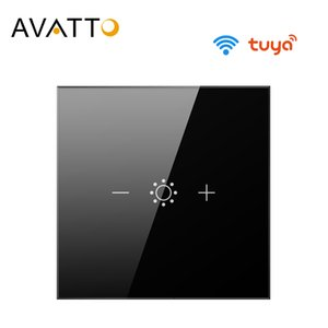 AVATTO Tuya Led Touch Wifi Dimmer Light Switch, Smart Strip Bulb Dimmer Switch with APP, Voice Remote for Alexa, Google Home