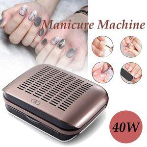 68W Professional Nail Пылесборник Всасывающего пылесос маникюрный машин для салона домашнего использования