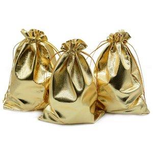 El paquete de 100 5inx 7 pulgadas para trabajo pesado Organza del lazo bolsas joyería del banquete de boda de Navidad regalo del favor del caramelo de chocolate Bolsas (5inx