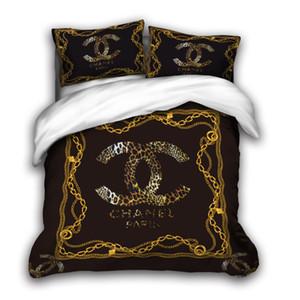 3D tamanho conjuntos de cama designer de rei de luxo Quilt fronha caso rainha tamanho duvet Cover Designer cama edredons define H5