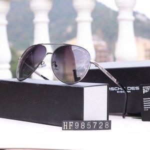 Brand UV400 Mens Designer Occhiali da sole Occhiali da sole di lusso Occhiali da sole adumbral adumbral Summer P985728 Qualità di lusso in metallo Casella opzionale 4 con CO Stivale
