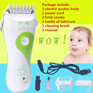 Infant Baby Electric Hair Clipper Set USB Mute Safe Rechargeable Cordless Hair Trimmer for Kid Children Toddlers Hair Daily Care