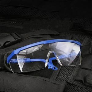 Rüzgar kesici Göz Koruyucu Gözlükler Şeffaf Şeffaf Güvenlik Koruma Gözlükler Çalışma Spor Anti Toz 4BL H1
