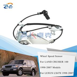 ZUK Ön Sağ Yan ABS Sensörü Tekerlek Hız Sensörü için Toyota Land Cruiser LEXUS LX470 1998-2007 89542-60040 için 100 1998-2007