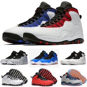 10 S Erkek Basketbol Ayakkabı 10 Beyaz Çimento Çöl Camo Erkekler Kadın Tinker Westbrook Spor Ayakkabı Sneakers Boyutu 7-13