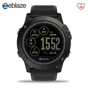 Zeblaze Vibe 3 Hr Sport Bluetooth intelligente orologio cardiofrequenzimetro con pedometro Smartwatch digitale orologio da polso da uomo per Ios Android J190522