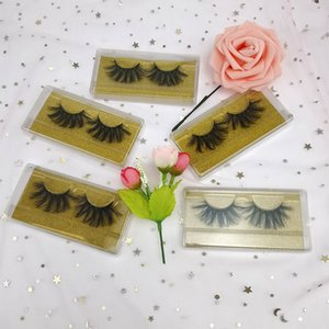 3D Mink Lashes Fluffy Dramatic Soft Natural Long False Eyelashes Handmade Reusable Eye Lashes Makeup Tool Eyelashes Extension