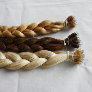 Elibess Brand Nano ring الشعر البرازيلي عذراء الشعر ، 100 ٪ شعرة الإنسان نسج الشعر البشري غير المجهزة ، 1G شارع 150S دفعة واحدة ، دي إتش إل الحرة