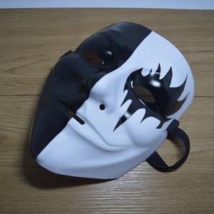 V For Vendetta Guy Fawkes Cadılar Bayramı Elle boyanmış kostüm Parti Cosplay Masquerade Sokak Dans Rave Oyuncak LJJA3246-4 anonim maskesi maske