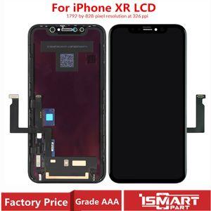 Dokunmatik Ekran Sayısallaştırıcı Meclisi OLED Mükemmel Renk Değiştirme Ücretsiz Kargo ile iPhone XR LCD Ekran için OEM Ekran