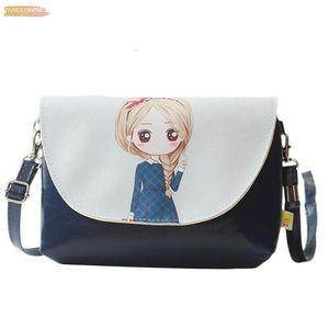 Children Zipper Girl Fashion Cartoon Pattern Wallet Mini Satchel Portable Bag Single Shoulder Bag Zk15