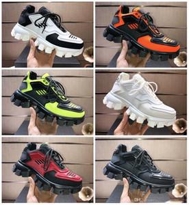 Prada Daddy Shoes hococal sneakers frete grátis calçados casuais clássicos sapatos de grife de luxo casuais dos homens das sapatilhas de borracha tecido sapatos ao ar livre