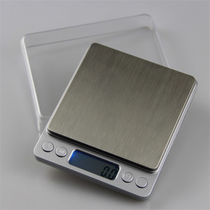 2000g 0.1g LCD Portable Mini Electronic Digital Scales Pocket Case Postal Kitchen Jewelry Weight Balance Digital Scale