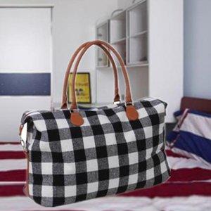 Unisex Sport Pu Yoga sacos de armazenamento grande sacos de venda xadrez Shopping Viagens Handbag Capacidade Preto sacos Red TOTE com fitness lidar com DH0734 QPWJ