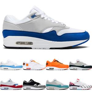 Nike air max 1 shoes Lüks Üçlü Siyah Beyaz Erkekler Koşu Ayakkabıları Yeni Kadın Koni Gundam Güney plaj mavi Tur Sarı Spor Kırmızı Spor Eğitmenler Sneaker Ayakkabı