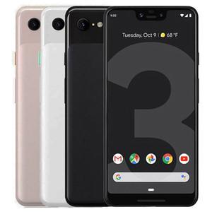 Google reformado original del pixel 3 5,5 pulgadas Octa Core 4 GB de RAM 64 GB 128 GB ROM NFC Quick Charge 3.0 4G LTE abrió el teléfono elegante DHL 10pcs