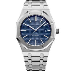 NY montres mécaniques automatiques usine luxe Montres Hommes 15400 modèle 316L montre de qualité en acier inoxydable montre-bracelet lumineux 30M imperméable à l'eau