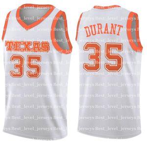 Universidade NCAA do Texas Kevin 35 jerseys Durant endurecer Westbrook 30 Stephen jersey Davidson Curry Leonard carter colina moleiro Colégio