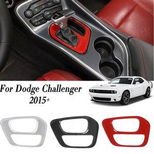 Automobil-Gangschaltung-Box Panel-Trim-Abdeckung für Dodge-Challenger 2015 UP Car Styling Car Interior Zubehör