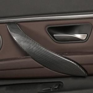 Auto Styling Türgriff Rahmen Dekoration Abdeckung Trim 4pcs für BMW 3 4 Serie 3GT F30 F32 F34 2013-2019 ABS Innenzubehör