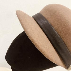 Wool Felt Hat Warm Wool Winter Hat Visor   Beret   Newsboy Hat