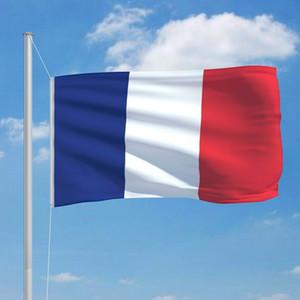 Французский флаг 90 X 150 Cm стены стикеры