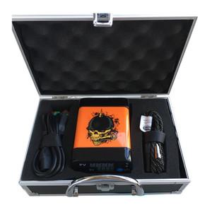 Menovo Electric Enail Nail Control Remoto Dabber Control de Temperatura Caja Con Ti Nail Carb Cap Tuberías de Agua Bong Vaporizador de Cera