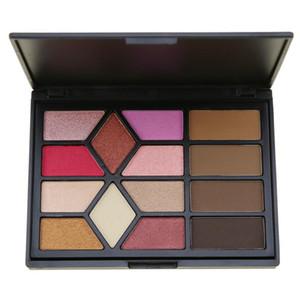 2020 NEW 14 Colors Pro Matte Eyeshadow Palette Women Shimmer Presses Glitter Eye Shadow Makeup Eyeshadow Pigment Eyebrow Pallete