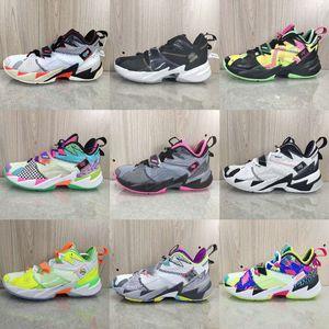 Рассел Уэстбрук III почему бы и не ноль.3 Мужские баскетбольные туфли для высокого качества Rainbow Black Leopard Grain aj 3s спортивные кроссовки обувь