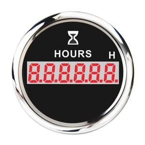 Marine Parts contatore orario digitale 52 millimetri Gauge rotonda impermeabile