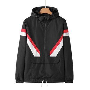 Fashion- Men Women Pullover Hoodies Lover Fall Thin Windrunner Light Windbreak Best quality Zipper Hoodies jacket coat
