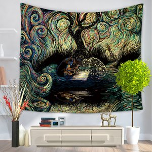 Mandala Series Exquisite Tapestry Creativo Coperta da appendere a parete Decorare Coperte Moda TV Wall Atmosphere Mandala Beach Towel 17myd k1